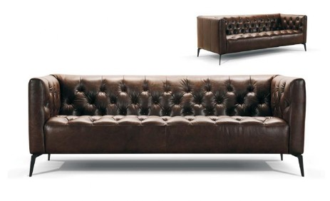 Fabric Leather Lounge Adelaide Taste Furniture